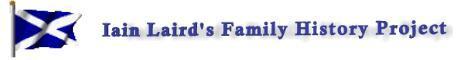 Iain Laird's Family History